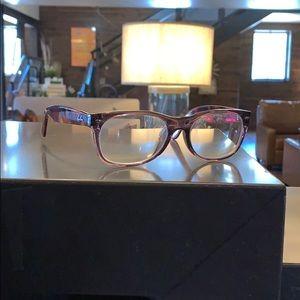 Faux Tortoise Glasses